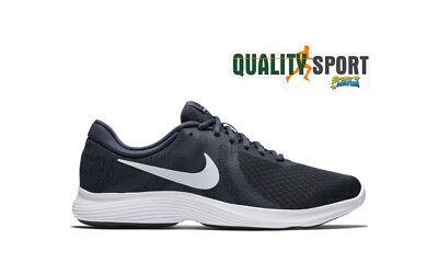 Nike Revolution 4 Ue Bleu Chaussures Hommes Sportif Running Gym AJ3490 402   eBay
