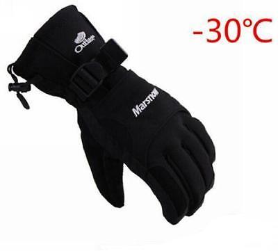 Winter Warm -30℃ Motorcycle Motorbike Snowmobile Snowboard Ski Waterproof Gloves