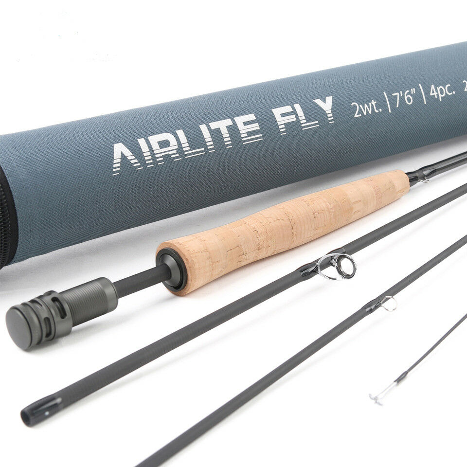Super Light 2WT 3WT Airlite 7'6'' Fly  Fishing Rod Graphite Carbon Fiber Fly Rod  special offer