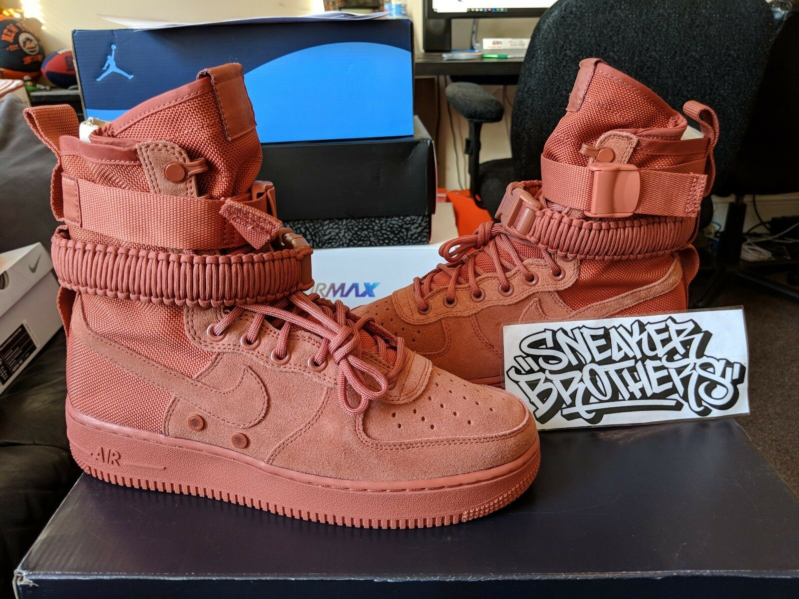 2b8369fd8d Nike SF AF1 Special Forces Field Air Force 1 One Dusty Peach Men's  864024-204