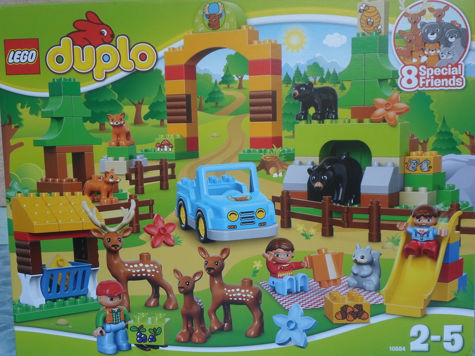 LEGO DUPLO 10584-PARC ANIMALIER- COMPLET NEUF SCELLE-SUPERBE