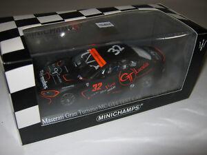 1-43-Maserati-Gran-Turismo-MC-gt4-J-Sicart-mc2010-L-E-MINICHAMPS-400101232-neuf-dans-sa-boite