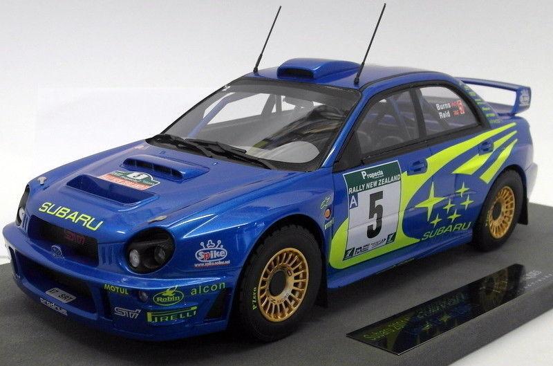 precios mas baratos Top Marques 1 18 Escala Resina Subaru Impreza WRC-TOP037B Quema Quema Quema Reid  5  mejor calidad