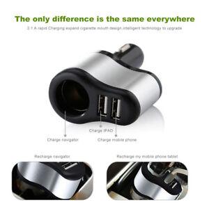 2-Port-Dual-USB-Car-Cigarette-Socket-Lighter-Splitter-Charger-Power-Adapter