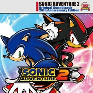 New Sonic Adventure 2 Original Soundtrack 20th Anniversary Edition Game Music Cd Ebay