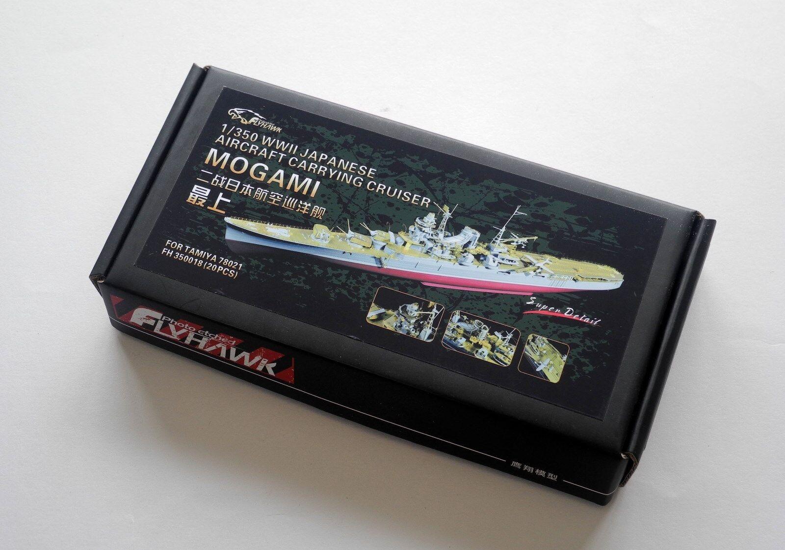Flyhawk 1 350 350018 IJN Aircraft Cruiser Mogami for Tamiya