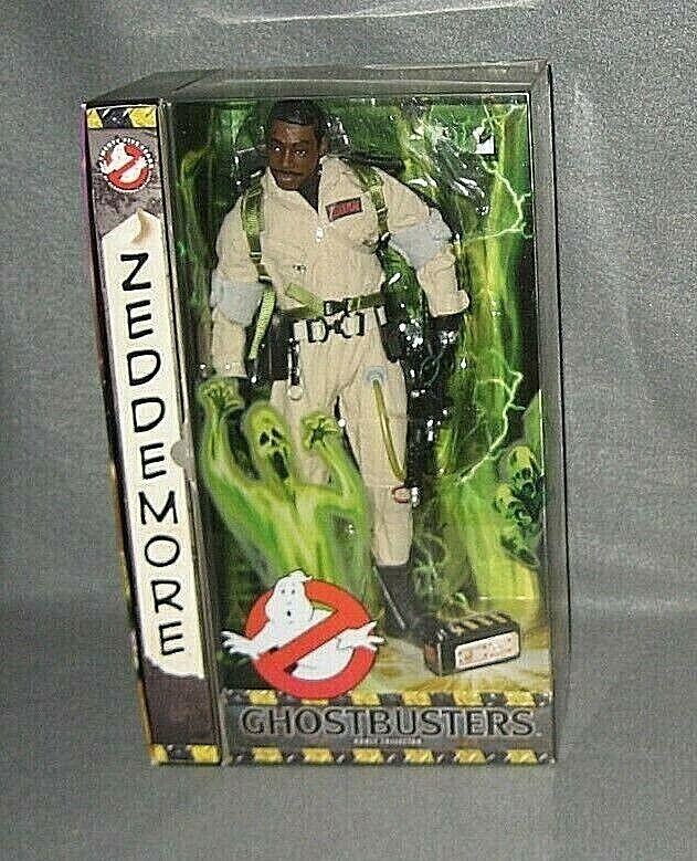 2009 Mattel Ghostbusters 12  WINSTON ZEDDEMORE Single Figure NEW in Verpackungaging