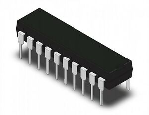 INTEGRATO-AT89C2051-24PI-8-bit-Microcontroller-with-2K-Bytes-Flash-DIP20
