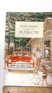 1949-PLYMOUTH-Original-NOS-Owner-039-s-Manual-Excellent-Condition-US