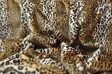 Leopard Webpelze Webpelz Langhaar kuscheliges Kunstfell Stoffe Fell NB3568-1