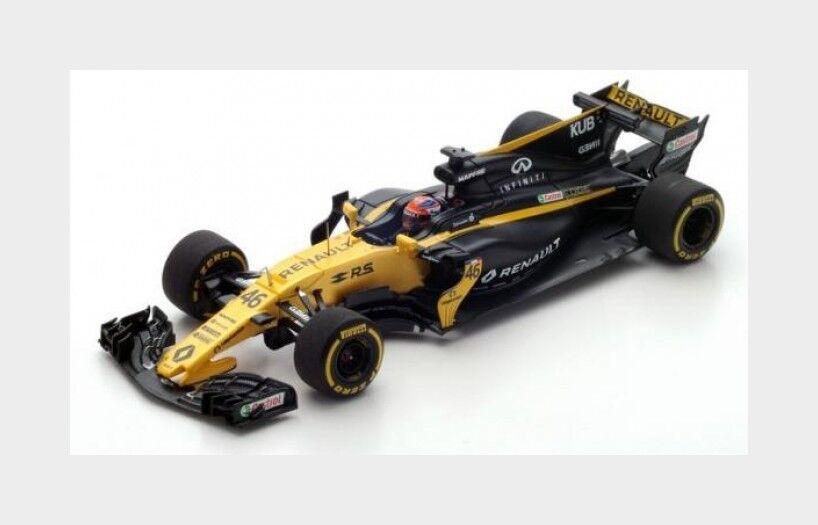 Renault F1 Rs17 #46 Test Hungaroring 2017 R.Kubika SPARK 1:43 S5055