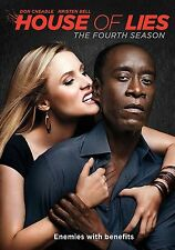 House Of Lies . The Complete Season 4 . Don Cheadle . Kristen Bell . 2 DVD . NEU