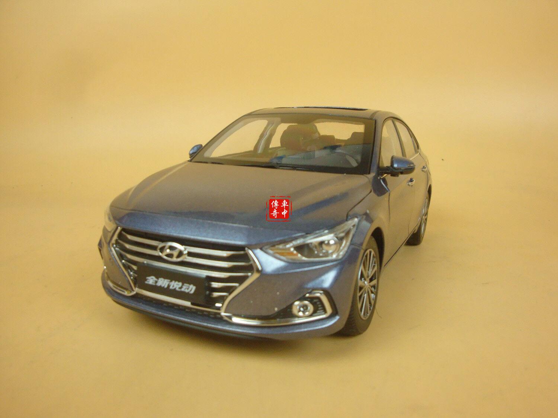 1 18 Hyundai celesta Modelo Diecast Color gris + Regalo