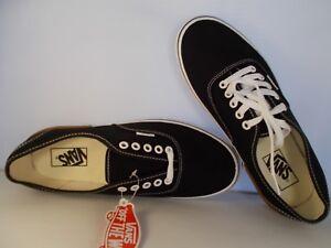 VANS-Authentic-Gum-Block-Black-Skateboarding-Shoes-Men-039-s-Size-8-New-In-Box