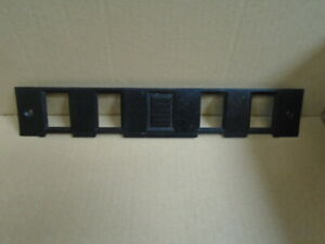 Triumph TR7 TR8 ** SWITCH PLINTH ** Black 4 switch - Nice used part
