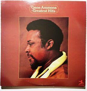 JAZZ-LP-GENE-AMMONS-Greatest-Hits-PRESTIGE-P-10084-1974-White-label-promo-copy