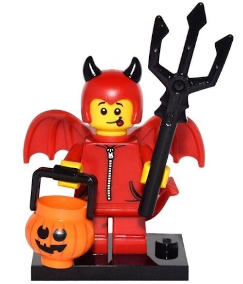 Cute Little Devil Boy Collectible Minifigure />NEW/< 71013 LEGO Series 16