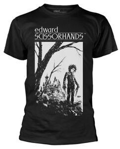 Edward-Scissorhands-039-Hilltop-039-T-Shirt-NEW-amp-OFFICIAL