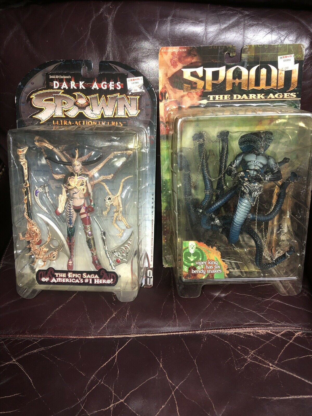 Spawn the Dark Ages - Viper King And Skull Queen