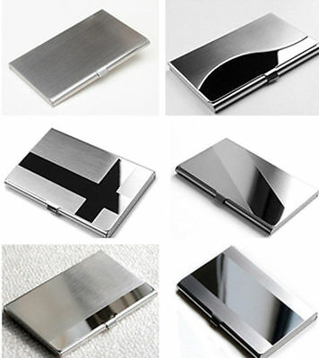 GA Creative Commodity Aluminum Holder Metal Case Credit ID Card Business Wallet