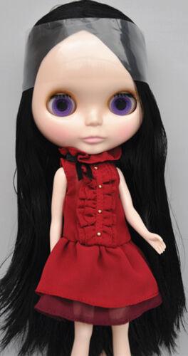 "Takara 12/"" Neo Blythe Black Hair Nude Doll  from Factory TBO142"