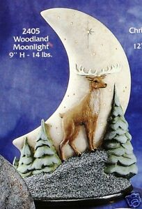 Ceramic-Bisque-Moon-Woodland-Moonlight-Gare-Mold-2405-U-Paint-Ready-To-Paint