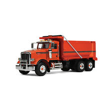 1:50 First Gear *ORANGE* Peterbilt Model 367 Dump Truck *NIB!*
