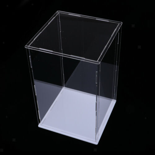 15x15x25cm Clear Acrylic Display Case Show Box for Action Figures Doll Model