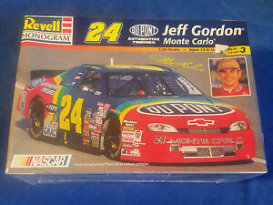 Revell-Monogram-Nascar-Jeff-Gordon-Monte-Carlo-1-24-Scale-FACTORY-SEALED
