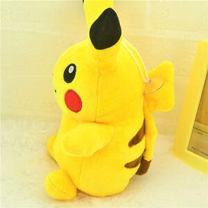 "Pokemon Go 9"" Pikachu Plush Soft Toy Stuffed Animal Cuddly Doll ~"