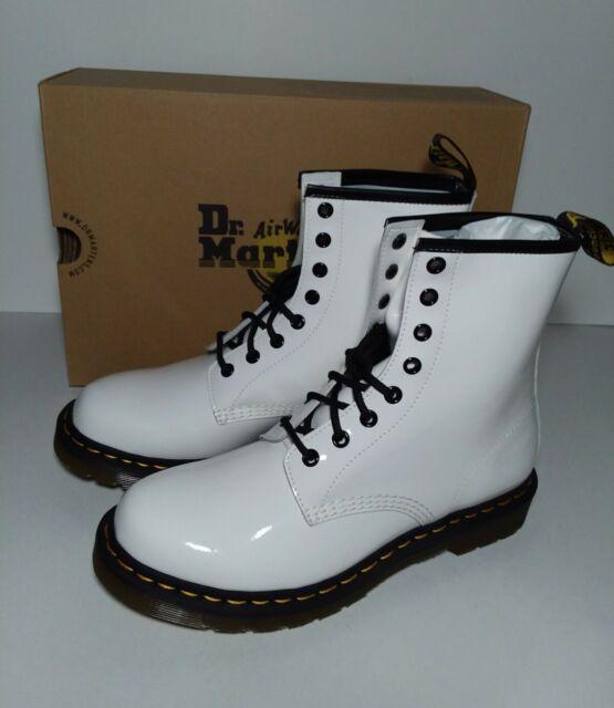 Doc Martens Women Size 10 White BOOTS