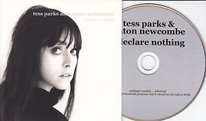 TESS-PARKS-amp-ANTON-NEWCOMBE-I-Declare-Nothing-2015-UK-10-track-promo-CD