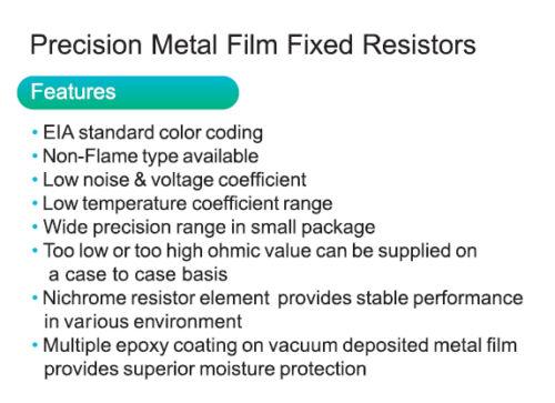 100K Ohm Metallschicht Metallfilm Widerstände0,6W1/%20//50//100 Widerstand