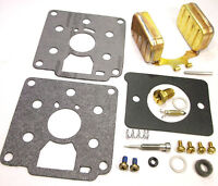 Carburetor Kit & Float For Marvel Schebler And Onan Dd10 Dd12r Dd14 Dd14a Dd16