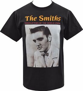 MENS LONG SLEEVE TOP SMITHS SHOPLIFTERS ELVIS PRESLEY ENGLISH MORRISSEY S-5XL