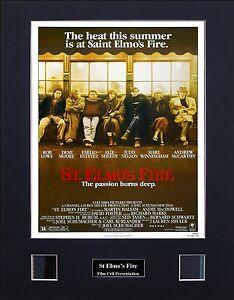St Elmo's Fire Version 2 Photo Film Cell Presentation