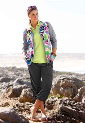 IX-CHEL Sweatjacke da Donna Maglia Giacca Giacca Colorata pressione 44//46 48//50 52//54 NUOVO