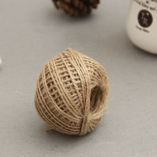 Wrap Gift Cotton//Lace// Burlap Rope Ribbon Twine Gift Tag String Ribbon Cord NEW