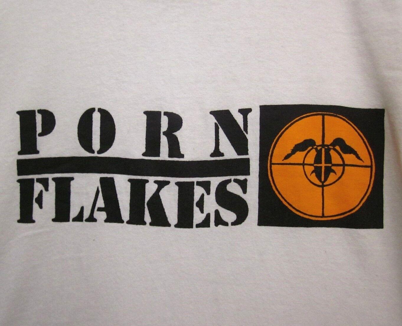 PORN FLAKES Fear A Hispanic 2XL tee rap parody T shirt GWAR Ohio crosshairs XXL