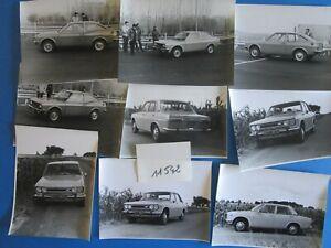 N°11542 / Datsun 9 Photos Journaliste ,berline Et Coupé 1600