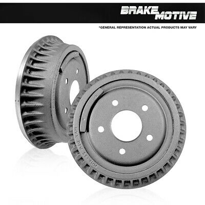 Rear Brake Drum Set For Chevy Blazer K1500 Tahoe GMC K1500 Yukon Denali 4WD 4X4
