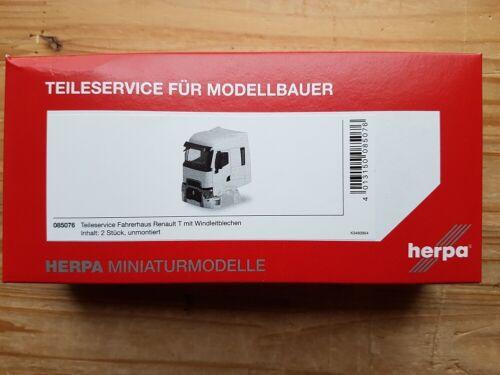 Herpa 085076-1//87 Renault T Fahrerhaus Inhalt 2 Stück Neu