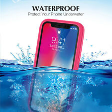 Shockproof Hybrid Rubber Waterproof Case Cover For iPhone XS XS MAX XR X 8 Plus