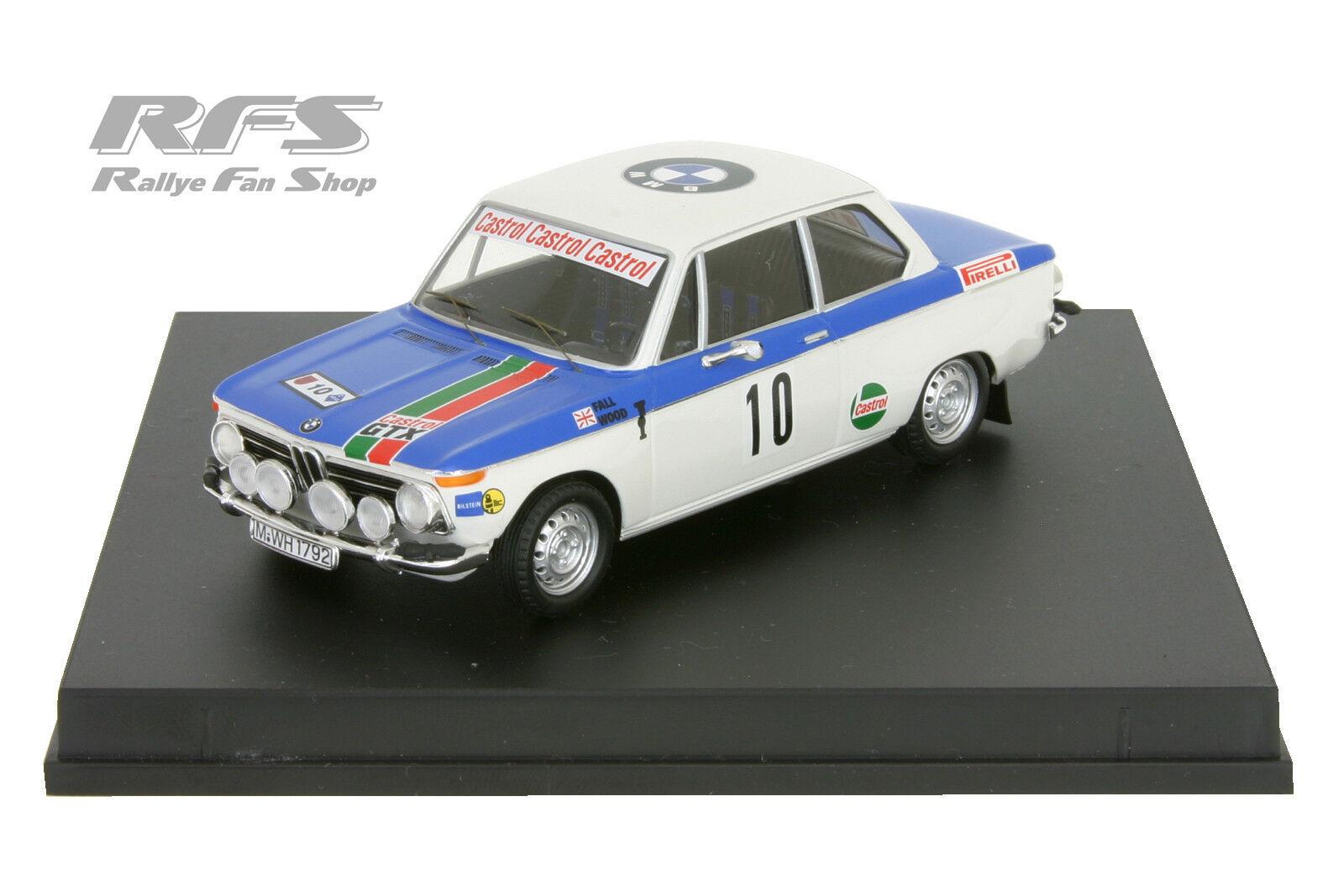 BMW 2002 Ti - Fall   Wood - Olympia Rallye 1972 - 1 43 Trofeu 1710