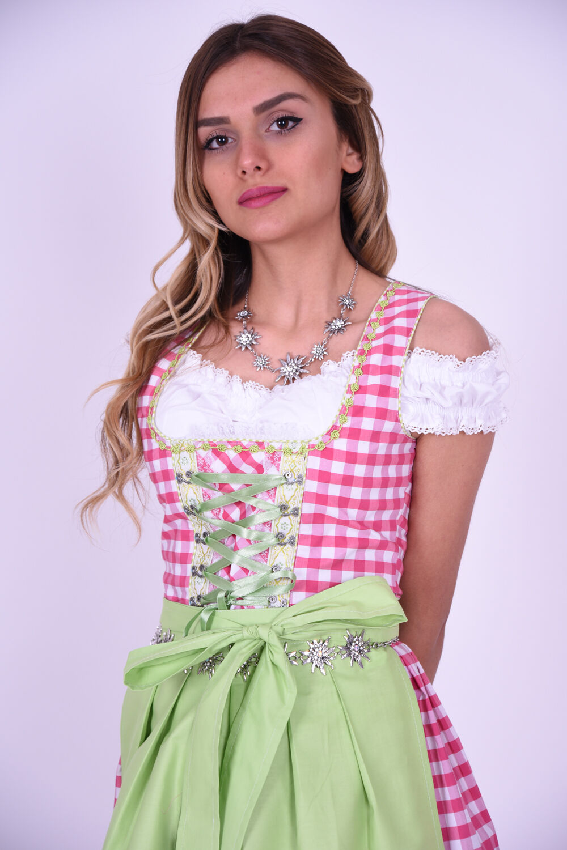 Dirndl Set Trachtenkleid 465GT Rosa Grün Dirndl Oktoberfest Oktoberfest Oktoberfest Gr 34 bis 42 | Bekannt für seine gute Qualität  | Exquisite Handwerkskunst  | Vollständige Spezifikation  c0f043