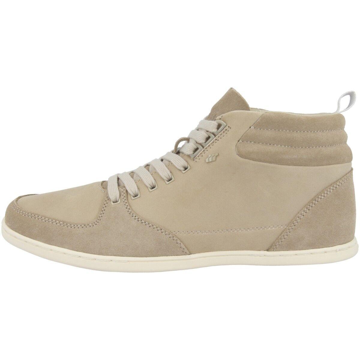 Boxfresh Eplett Sh Chaussures en Cuir Mid Cut paniers Loisirs Vison D'Argent
