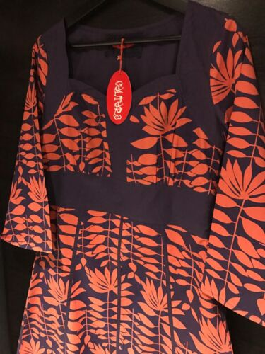 Bnwt hippy boho festival robe//tunique par culture taille 10 ethnique imprimé