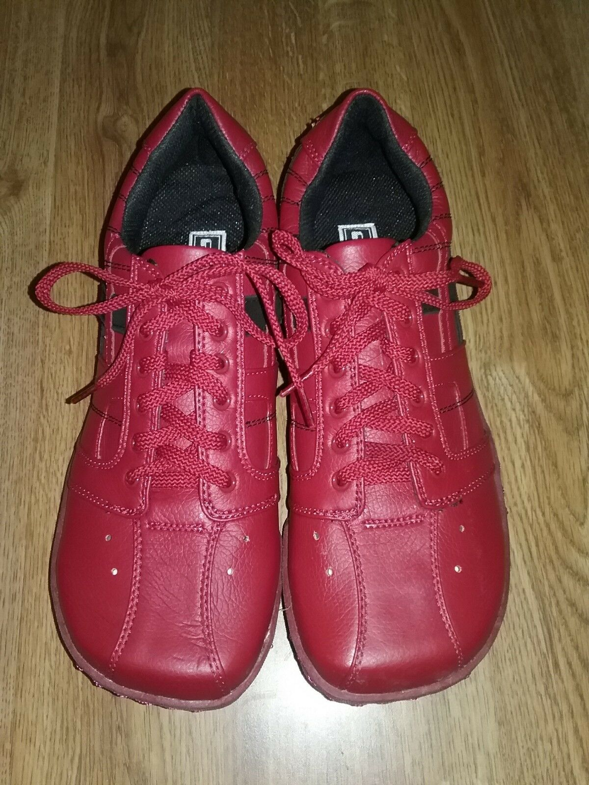 Fuel Women's Fashion shoes Sneakers Size 10 color Red New With Box NWB Cute