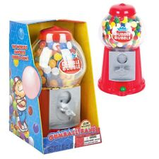 85 Red Classic Gumball Machine Coin Bank With Dubble Bubble Gum Included