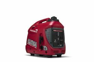 Powermate PM1200i 50ST P0080400 Gas Inverter Generator 1200 Watt 50 ST, Red, Bla